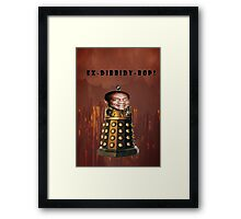 Bill Cosby Dalek Collection Framed Print
