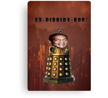 Bill Cosby Dalek Collection Canvas Print