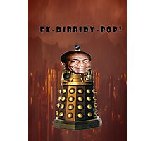Bill Cosby Dalek Collection Photographic Print