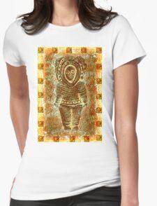 latin Sculpture Womens Fitted T-Shirt