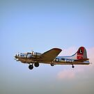 B 17, Flying Fortress by Debbie  Maglothin
