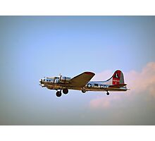B 17, Flying Fortress Photographic Print