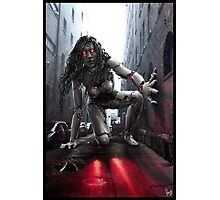 Cyberpunk Photography 044 Photographic Print