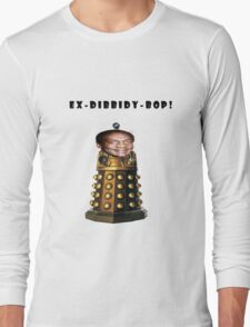 Bill Cosby Dalek Collection Long Sleeve T-Shirt