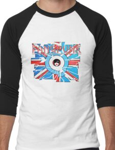 Fangpunk Union Jack MOD UK T Shirt Men's Baseball ¾ T-Shirt