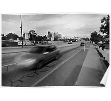 Car Canning Highway Perth Poster