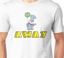 Go Away Angry Cat Unisex T-Shirt