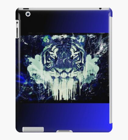 Tiger Melt iPad Case - Blue iPad Case/Skin