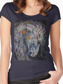 Knight of Chess Women's Fitted Scoop T-Shirt
