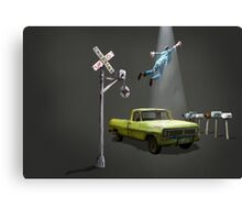 Beam me up Canvas Print