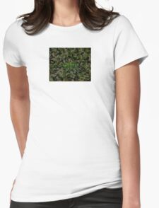 Elusive Camo Womens Fitted T-Shirt