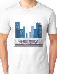 Subway Blues Unisex T-Shirt