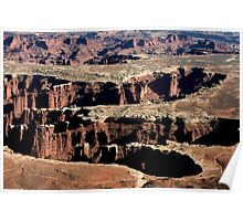 Canyonlands Cutouts Poster