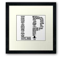 LP Framed Print