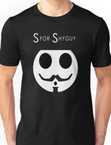 S for Shyguy - V for vendetta Unisex T-Shirt