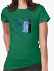 Looking 4A Mad Man In A Box Womens Fitted T-Shirt