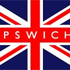 Ipswich UK Flag				 by FlagCity