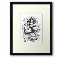 """Dreaming Slave"" Framed Print"
