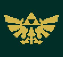 Pixel Triforce by Cimoe