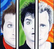 Green Day - Uno Dos Tre by JessInkins