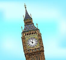 Big Ben 02 by CamposDO