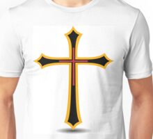 Golden Cross Unisex T-Shirt