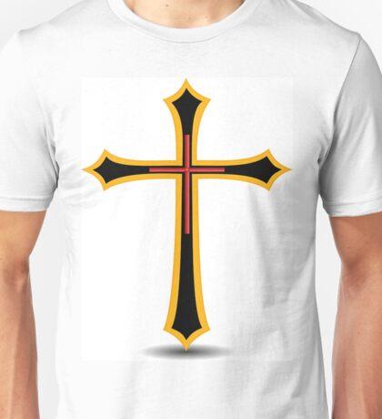 Golden Cross Unisex T-Shirt