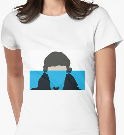 6 miles deep Womens Fitted T-Shirt