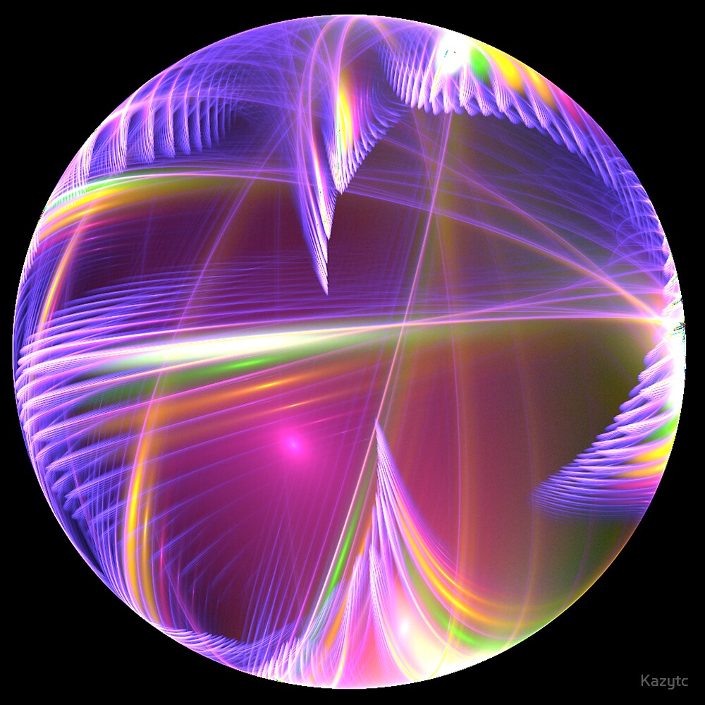 Brush with a Rainbow Orb by Kazytc