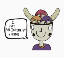 Ice-cream Viking by Robynjp