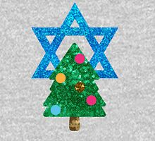 glitter christmukkah hanukkah Unisex T-Shirt
