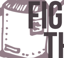 Fight the Robots! Sticker