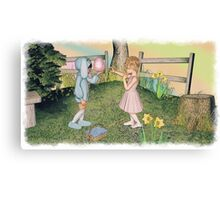 The Easter Egg Canvas Print