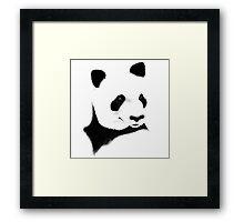 Giant Panda (Ailuropoda melanoleuca) Framed Print