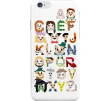 Oz-abet (an Oz Alphabet) iPhone Case/Skin