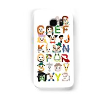 Oz-abet (an Oz Alphabet) Samsung Galaxy Case/Skin