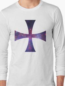 Templar cross - universe Long Sleeve T-Shirt