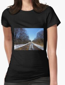 Cold Country Womens Fitted T-Shirt