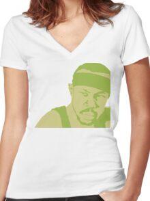 Avon Barksdale Women's Fitted V-Neck T-Shirt