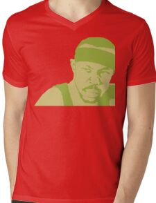 Avon Barksdale Mens V-Neck T-Shirt