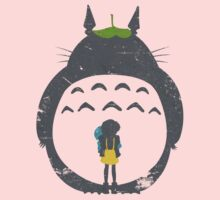 Totoro Silhouette Kids Clothes
