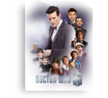 doctor who - 50 years of... Canvas Print