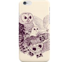 Owl Movement iPhone Case/Skin