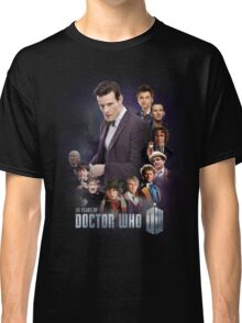 doctor who - 50 years of... Classic T-Shirt