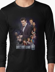 doctor who - 50 years of... Long Sleeve T-Shirt