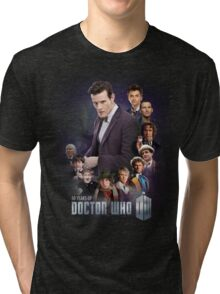 doctor who - 50 years of... Tri-blend T-Shirt