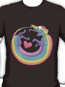 Rainbow Roll by Diversity Dachshund T-Shirt