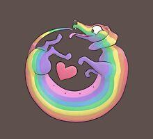 Rainbow Roll by Diversity Dachshund Unisex T-Shirt