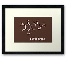 Coffee Break! Framed Print