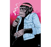 Wet Chimp Photographic Print